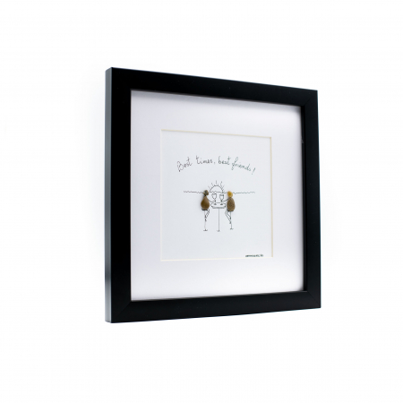 Tablou Best Friends  - Colectia Pebble Art1
