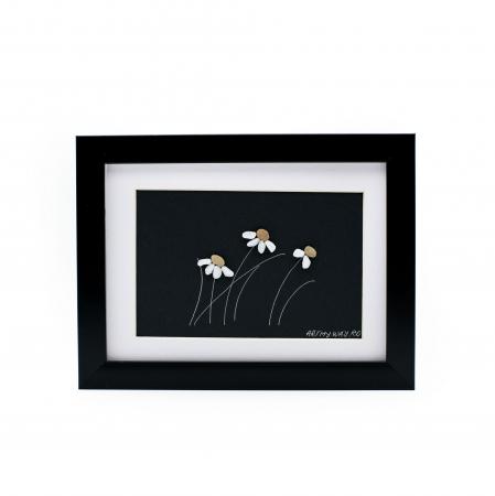 Tablou Windy Days - Negru - Colectia Pebble Art0