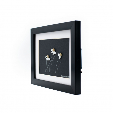 Tablou Windy Days - Negru - Colectia Pebble Art2