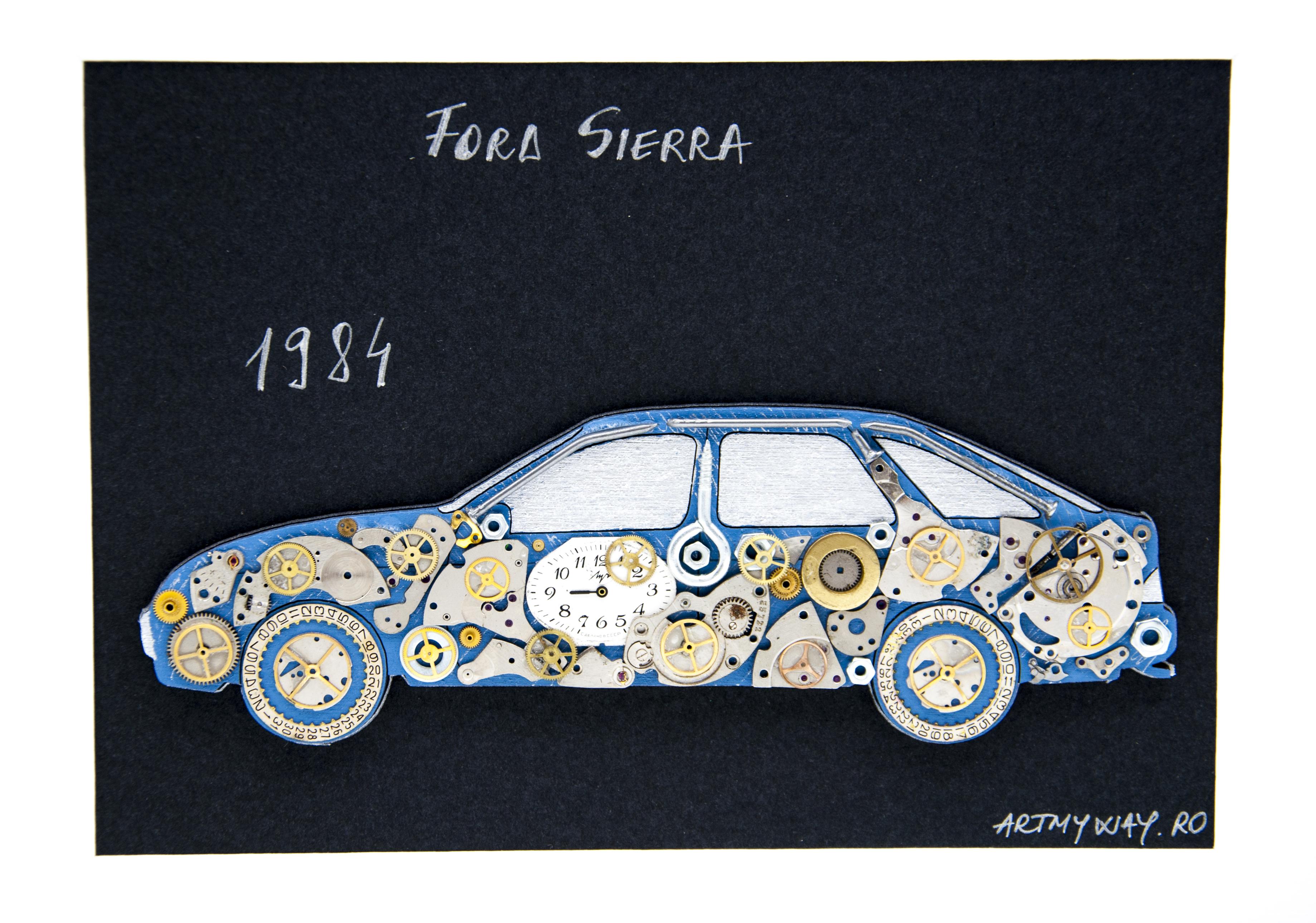 Tablou Ford Sierra 19843