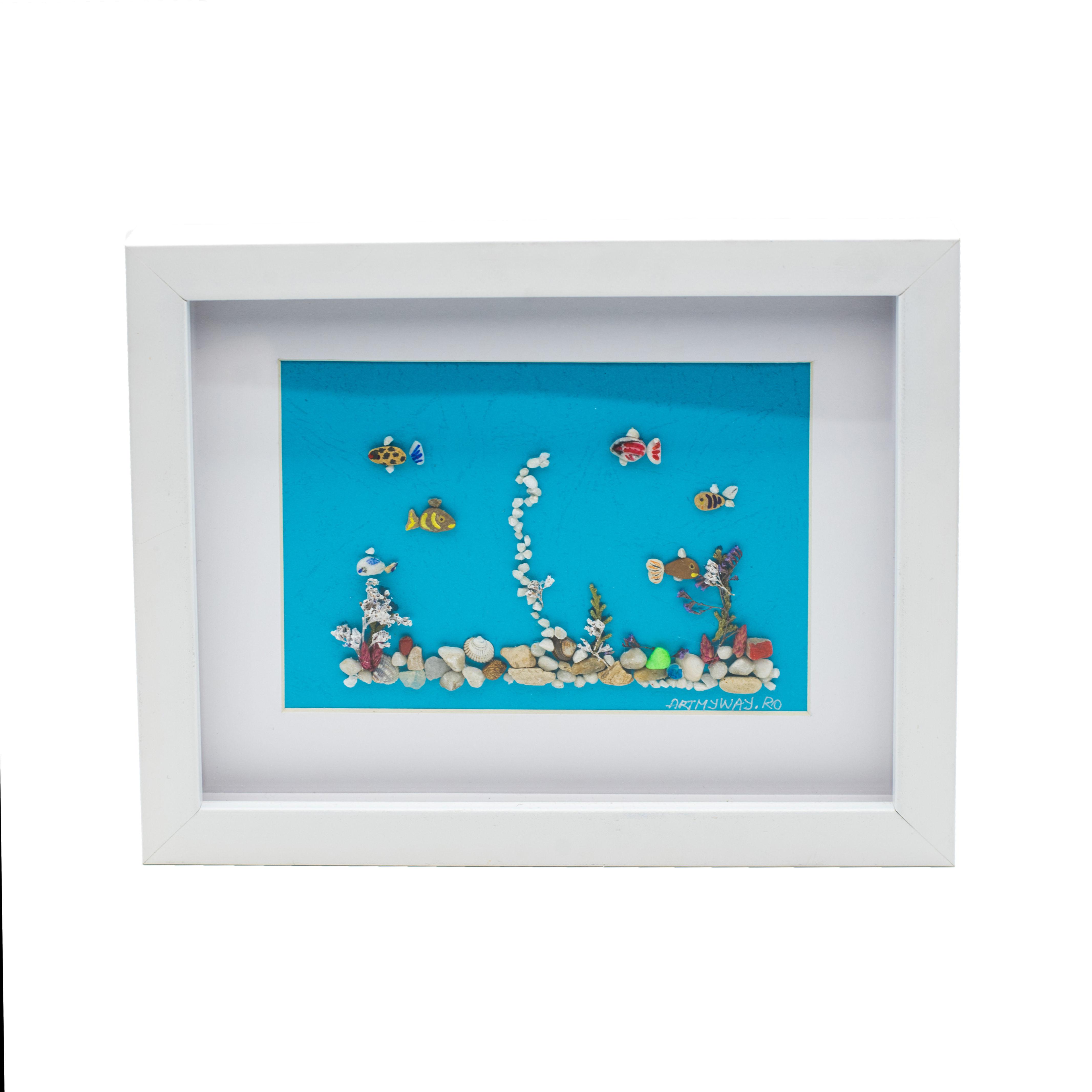 Tablou Aquarium - Colectia Pebble Art1