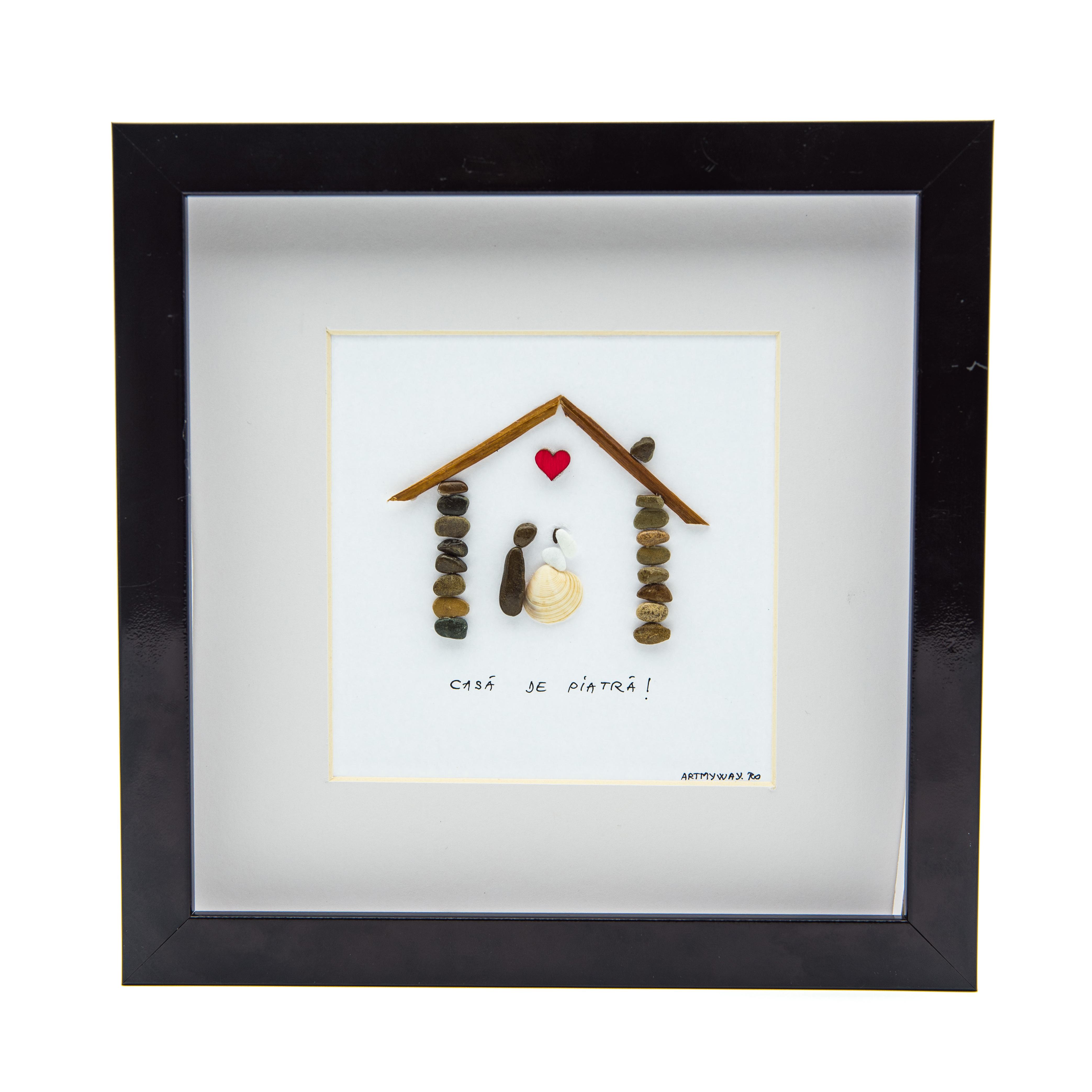 Tablou ' Marry me ' - Colectia Pebble Art 0