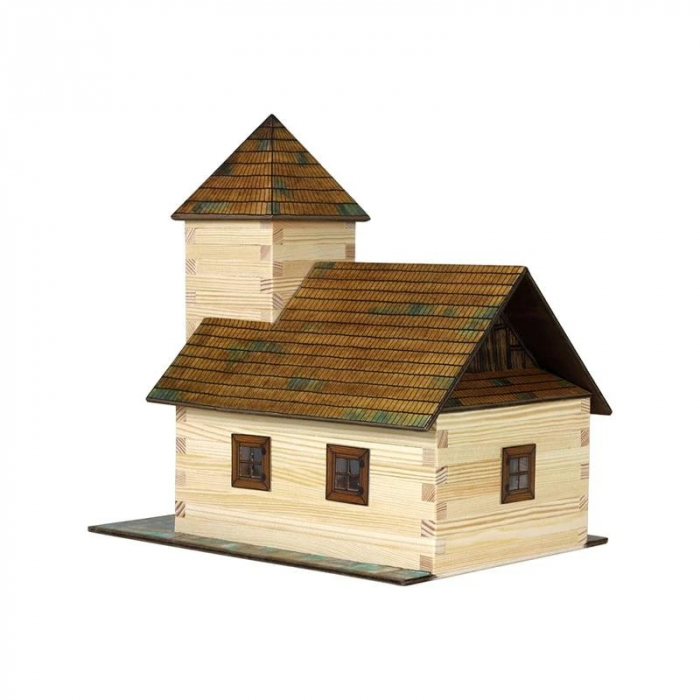Kit de construit din lemn TAVERNA WALACHIA 213 piese 1