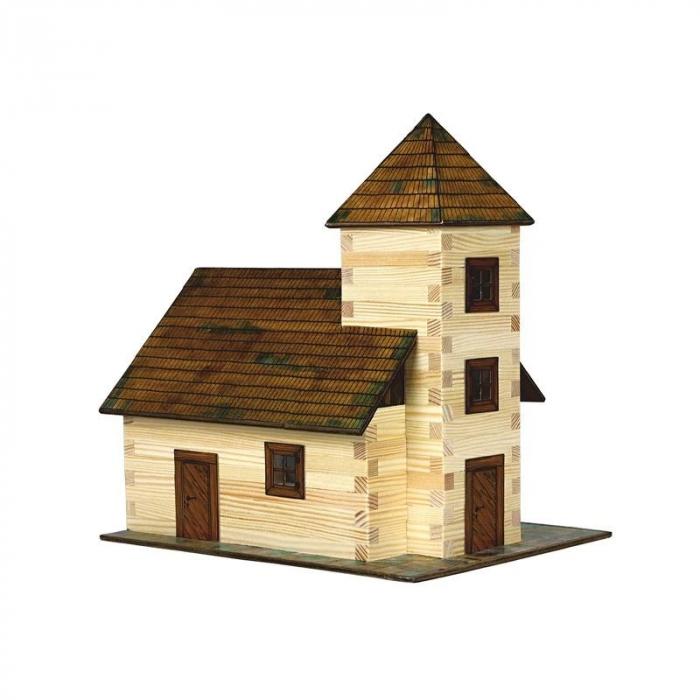 Kit de construit din lemn TAVERNA WALACHIA 213 piese 0