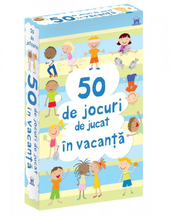 50 DE JOCURI DE JUCAT IN VACANTA- joc educativ Didactica Publishing House 0