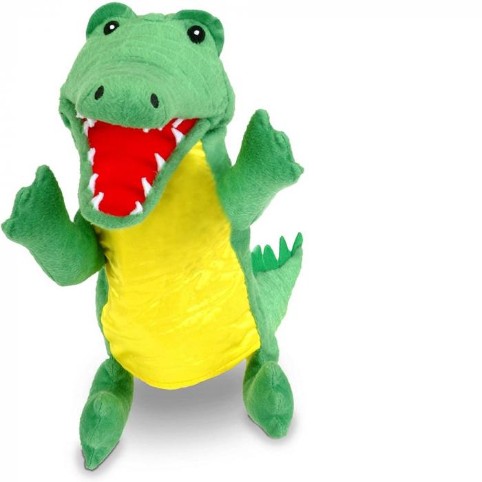 Personaj teatrul de papusi - Crocodilul / Big crocodile puppet 0