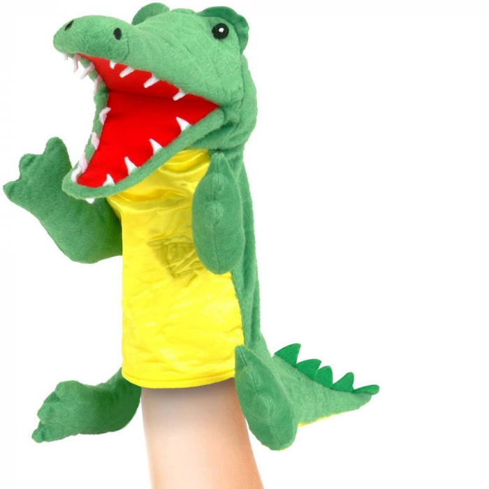 Personaj teatrul de papusi - Crocodilul / Big crocodile puppet 2