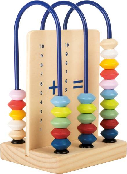 """Abac din lemn / Small Abacus Learning Toy """"Educate"""" - Legler 0"""