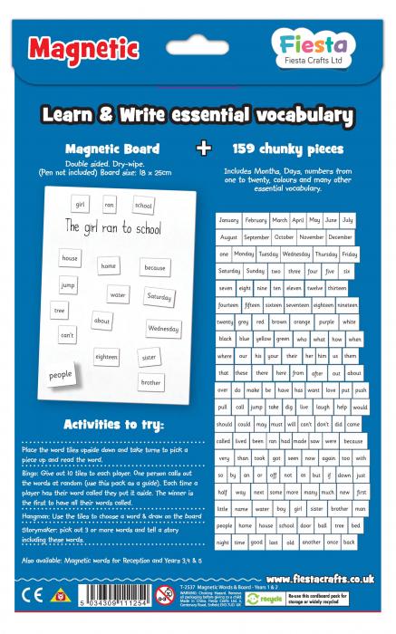 Activitati cu litere magnetice pentru incepatori / Magnetic words Board for year 1-2 1