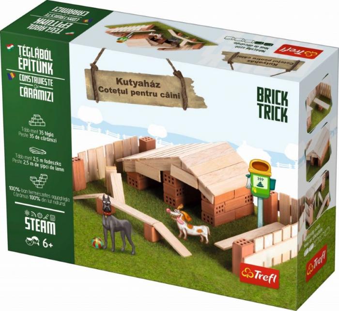 Brick Trick Cotetul pentru caini din caramidute ceramice [1]