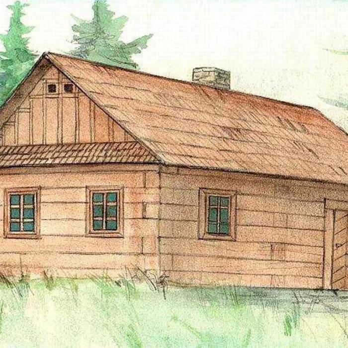 Cabana de lemn - joc educativ de construit Walachia 2