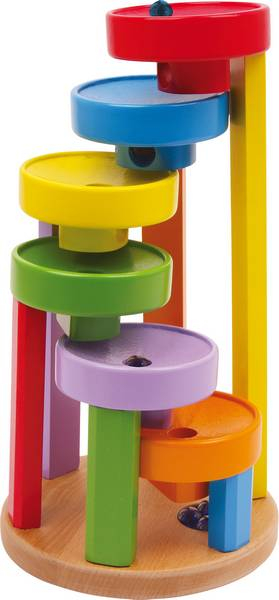 Cascada cu bile / Marble Run Colourful - Legler 0