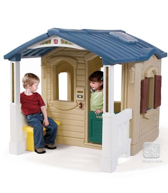 Casuta cu pridvor - Naturally Playful Front Porch Playhouse [0]