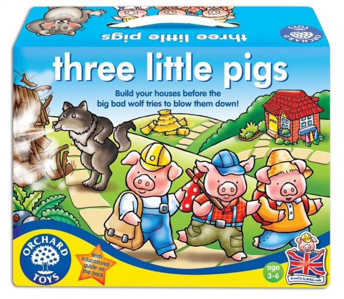 Cei trei purcelusi / THREE LITTLE PIGS 0