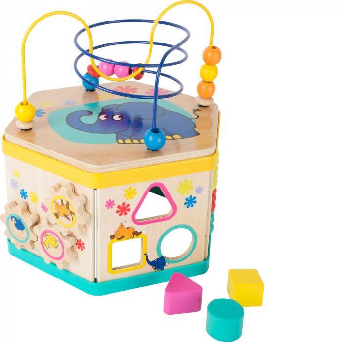 """Cub de activitati """"Soricelul si elefantul"""" - Legler 0"""
