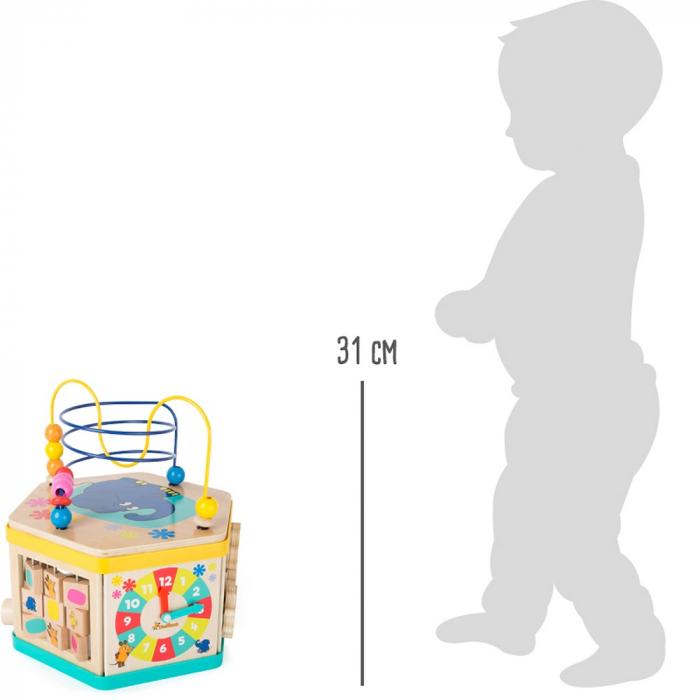 """Cub de activitati """"Soricelul si elefantul"""" - Legler 4"""