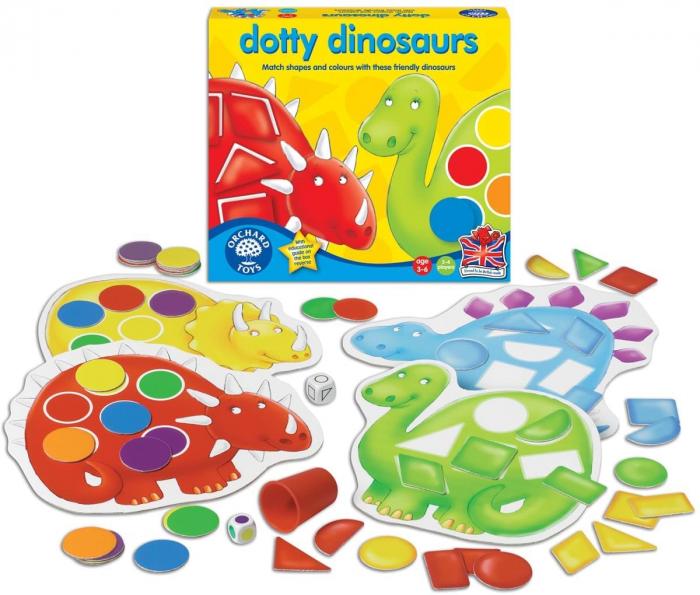Dinozaurii cu pete / DOTTY DINOSAURS [1]