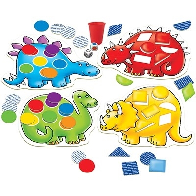 Dinozaurii cu pete / DOTTY DINOSAURS [4]