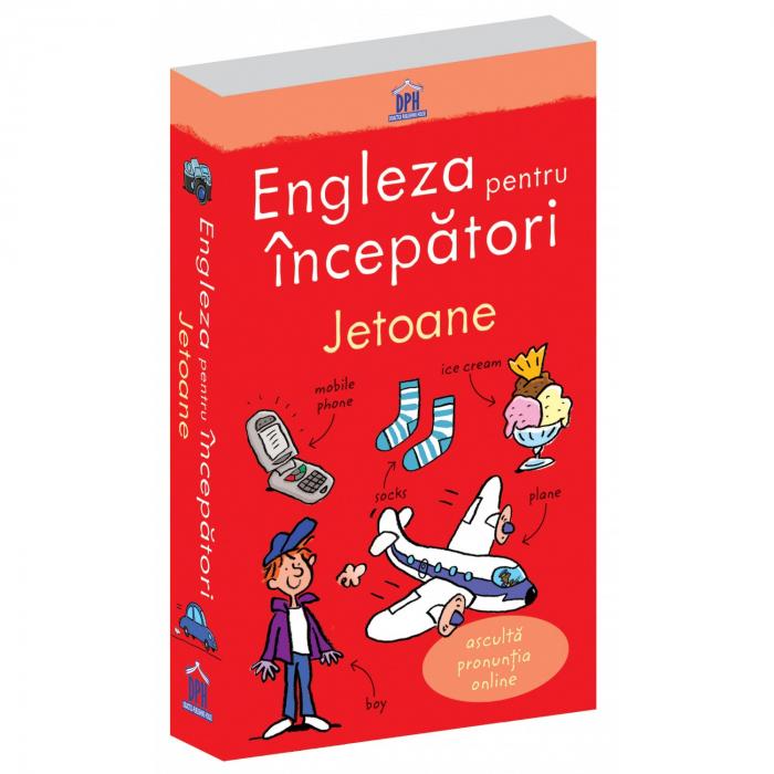 ENGLEZA PENTRU INCEPATORI - 100 jetoane- joc educativ Didactica Publishing House 0