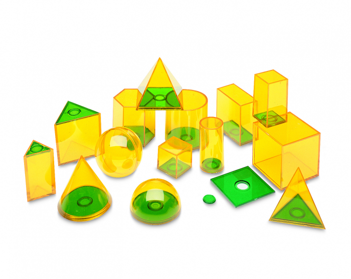 Forme geometrice Geosolids - jucarie educativa Learning Resources 1