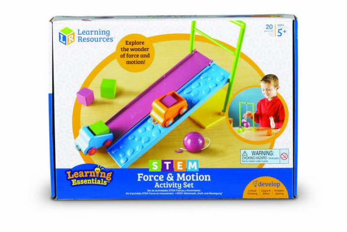 Forta si miscare - jucarie STEM Learning Resources 0