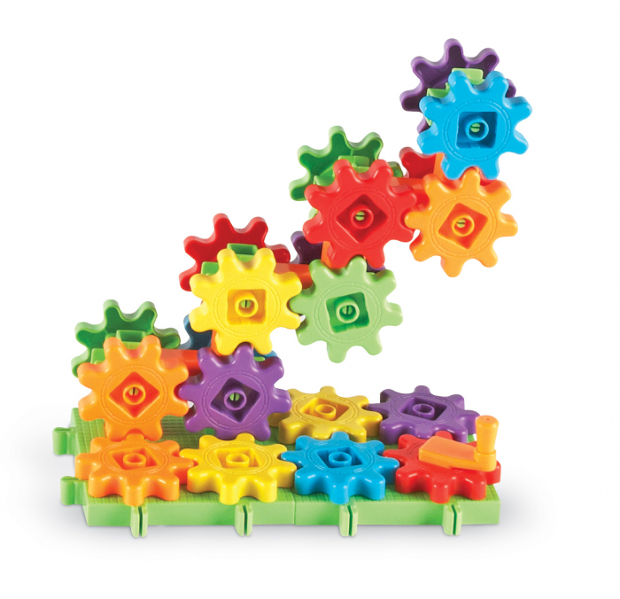 Gears!Gears!Primul meu set de construit - Learning Resources 2