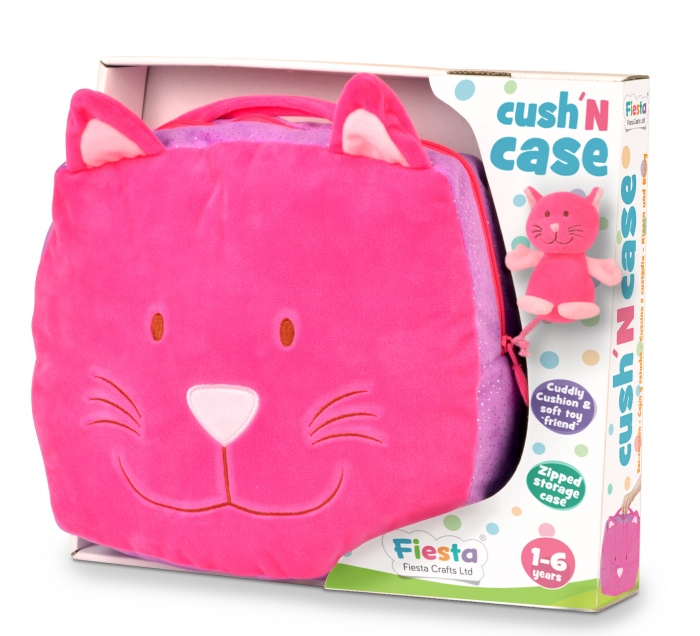 Gentuta multifunctionala Pisicuta / Cat Cush N Case - Fiesta Crafts 0