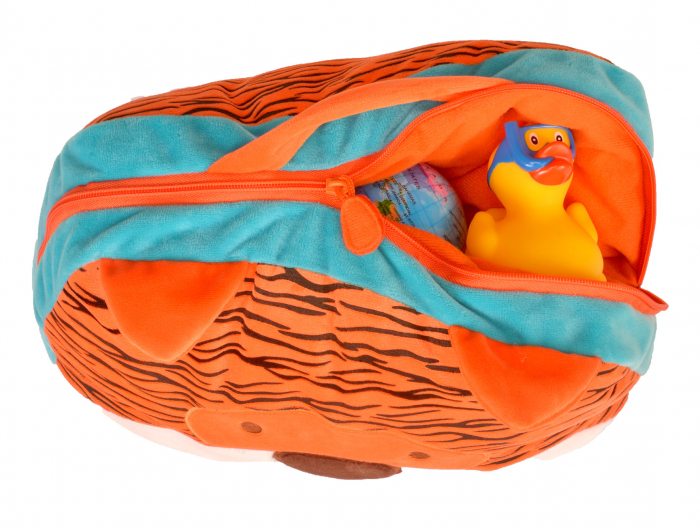 Gentuta multifunctionala Tigru / Tiger Cush N Case - Fiesta Crafts 2