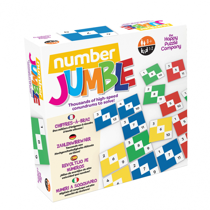Joc asociere Number Jumble The Happy Puzzle Company 0