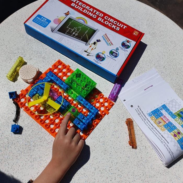 Joc constructie cu circuite integrate 115 proiecte 4