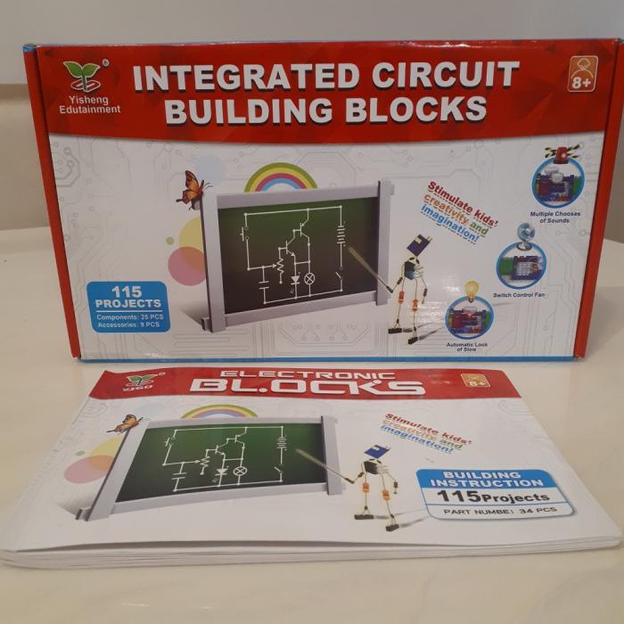Joc constructie cu circuite integrate 115 proiecte 9
