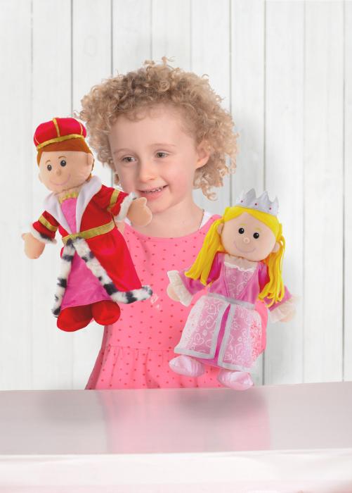 Joc de rol Personaj teatrul de papusi - Printesa / Princess - Fiesta Crafts 1