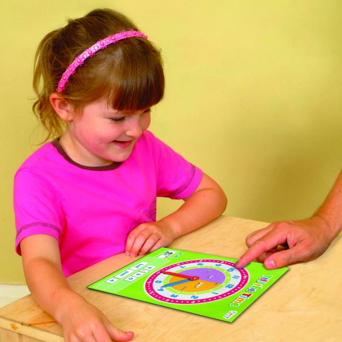 Joc educativ Cat e ceasul? / Tell the time Fiesta Crafts 1