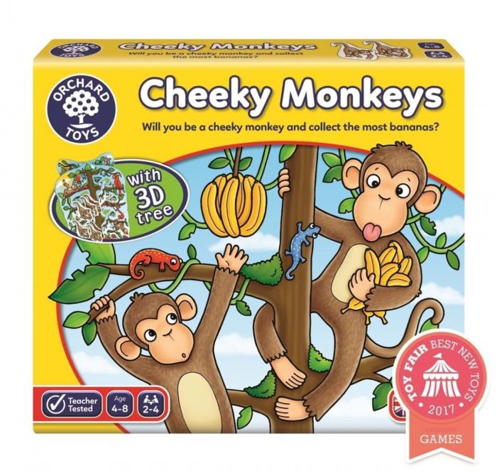 Joc educativ Cheeky Monkeys 0