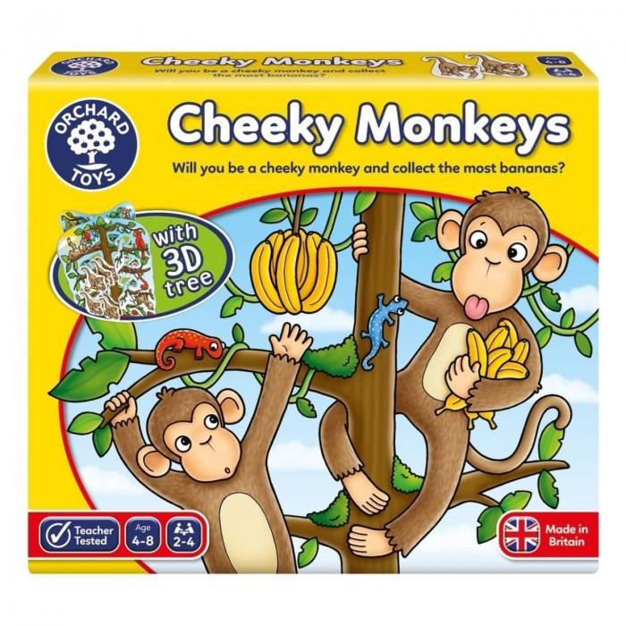 Joc educativ Cheeky Monkeys 3