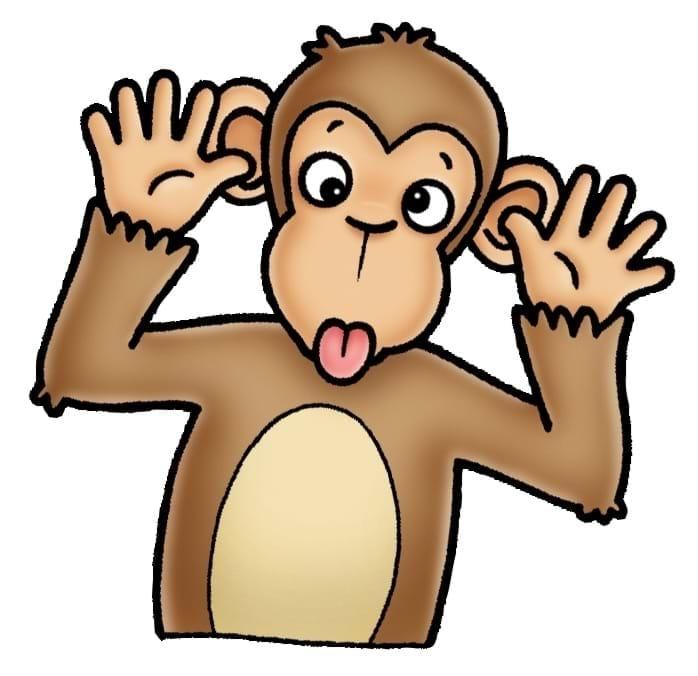 Joc educativ Cheeky Monkeys 6