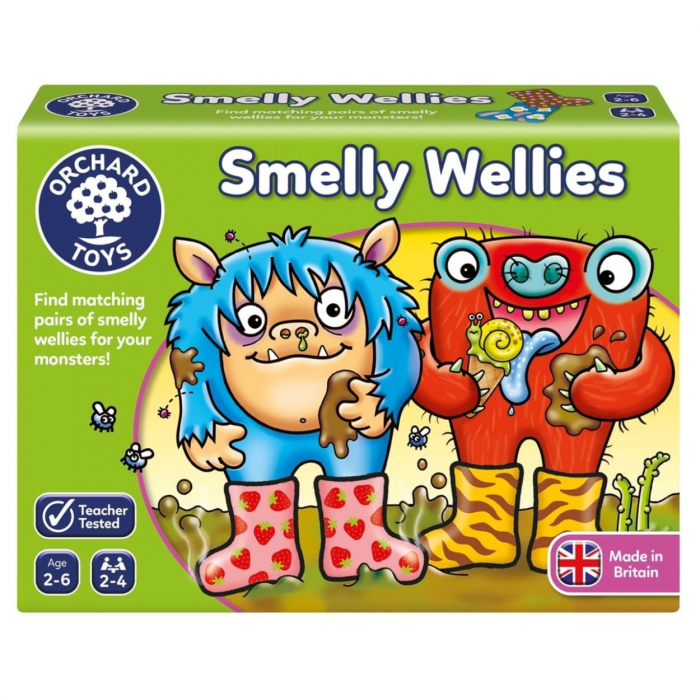 Joc educativ Cizmulitele de Cauciuc SMELLY WELLIES 0