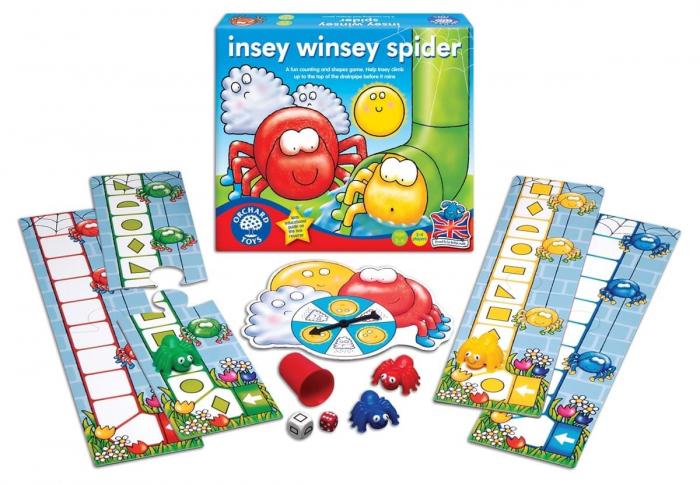 Joc educativ Cursa Paianjenilor INSEY WINSEY SPIDER 1