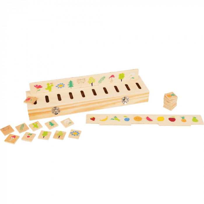 Joc educativ Cutiuta sortatoare Educate/ Picture sorting box - Legler 0