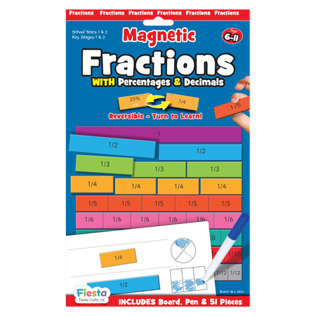 Joc educativ Fractii / Fractions Fiesta Crafts 0