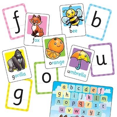 Joc educativ in limba engleza ALPHABET FLASHCARDS [3]