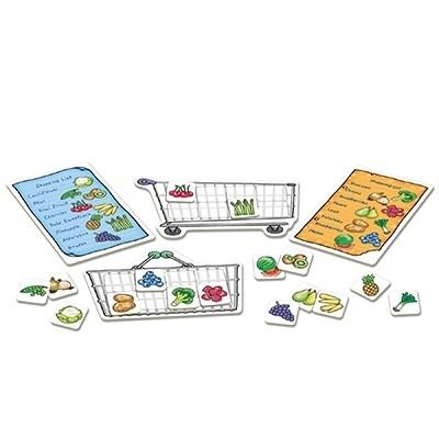 Joc educativ in limba engleza Lista de cumparaturi Fructe si legume 3
