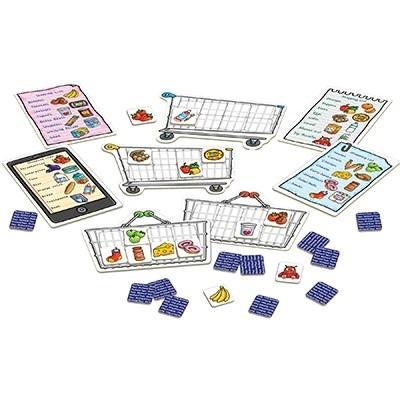 Joc educativ in limba engleza Lista de cumparaturi SHOPPING LIST 4
