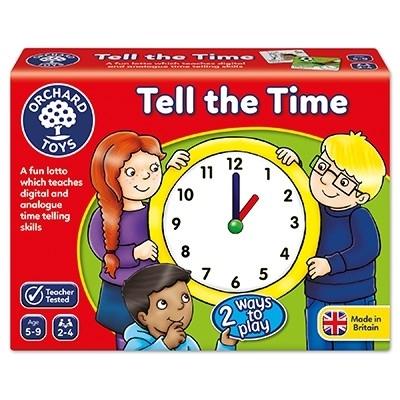 Joc educativ loto in limba engleza Citeste ceasul TELL THE TIME 2