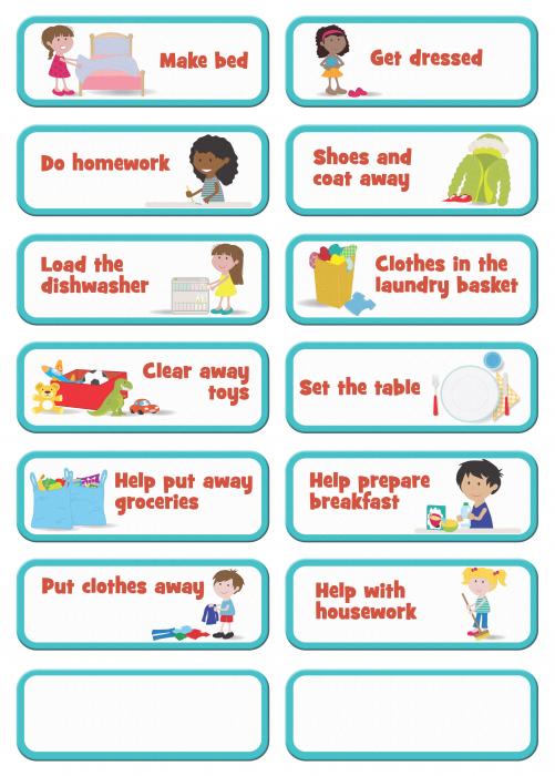 Joc educativ Organizator de activitati / My to do list - Fiesta Crafts 1