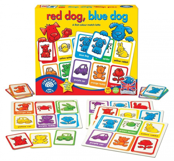 Joc loto Catelusii / RED DOG BLUE DOG 1
