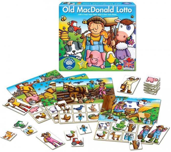 Joc Loto OLD MACDONALD 1