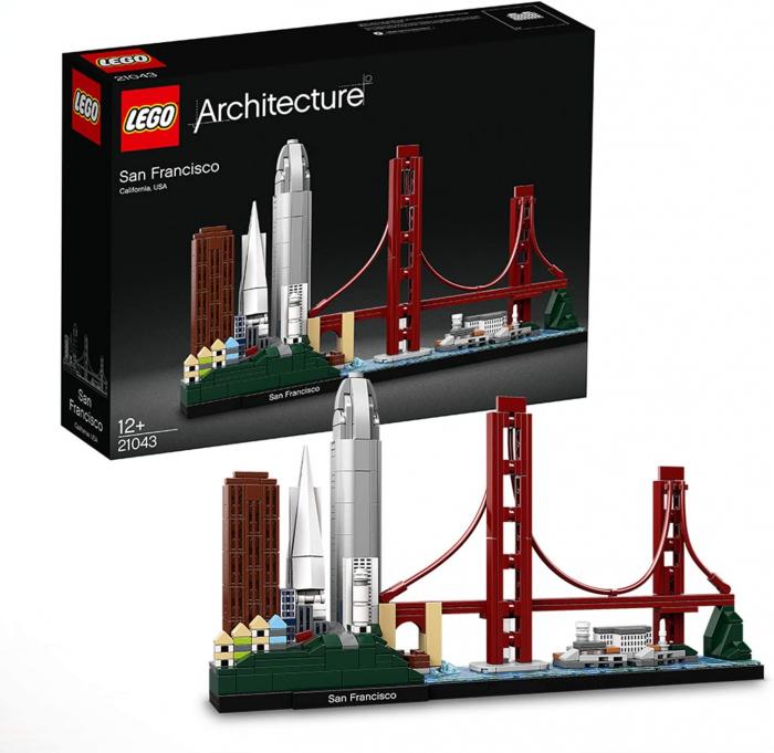 Lego Architecture  San Francisco 21043 [3]