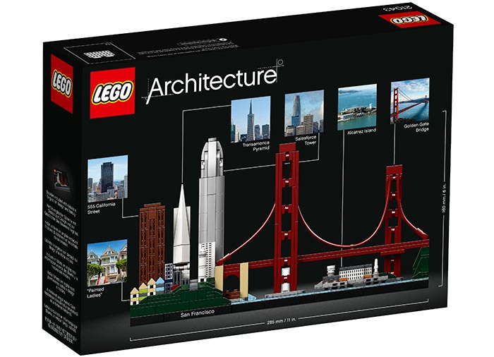 Lego Architecture  San Francisco 21043 [8]