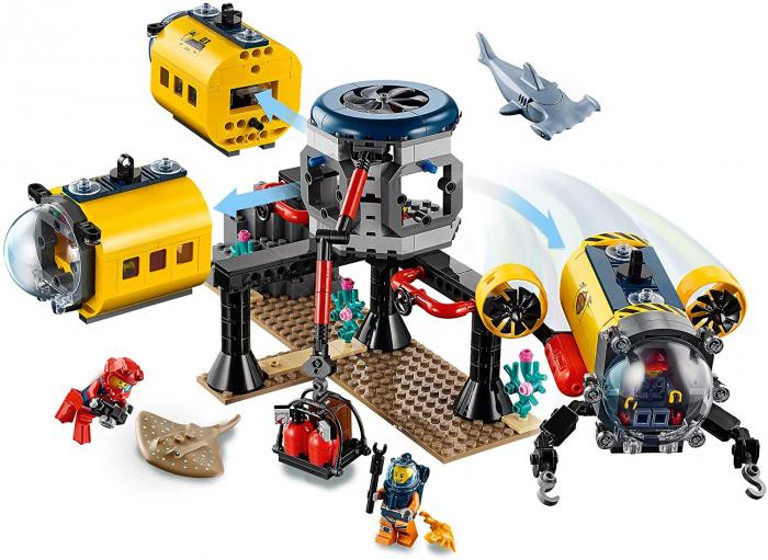 LEGO CITY  BAZA DE EXPLORARE A OCEANULUI 60265 [5]